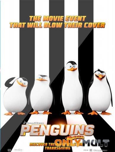 Poster Пингвины Мадагаскара (2014)