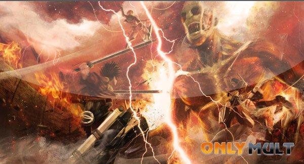 Первый скриншот Вторжение титанов: Багровые стрелы