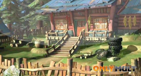 Первый скриншот Медведи-соседи: Невероятные приключения
