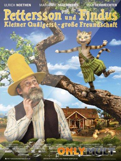 Poster Петтерссон и Финдус Маленький мучитель, большая дружба