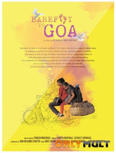 Poster Босиком в Гоа