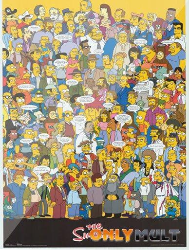 Poster Симпсоны 1 сезон