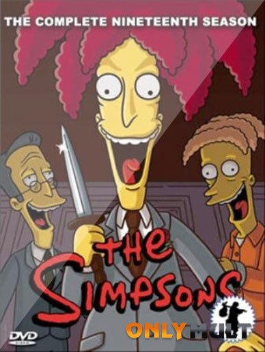 Poster Симпсоны 19 сезон