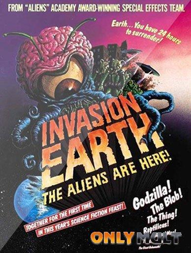 Poster Вторжение на Землю