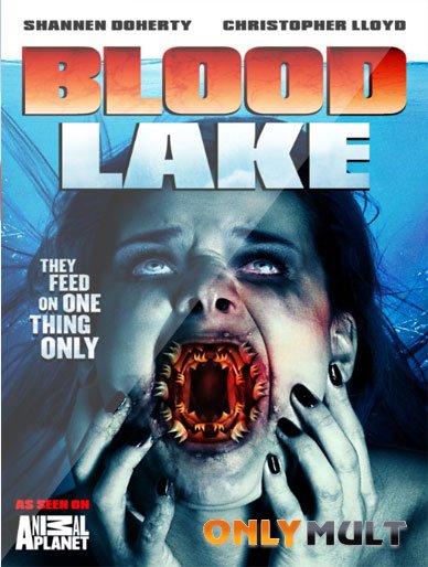 Poster Кровавое озеро: Атака миног-убийц