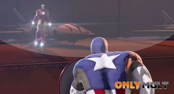 Второй скриншот Железный человек и Капитан Америка Союз героев