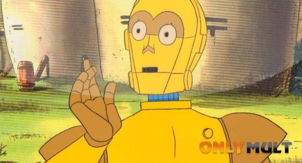 Первый скриншот Дроиды