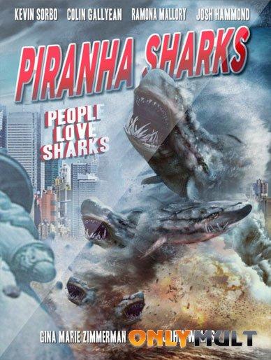 Poster Акулы-пираньи