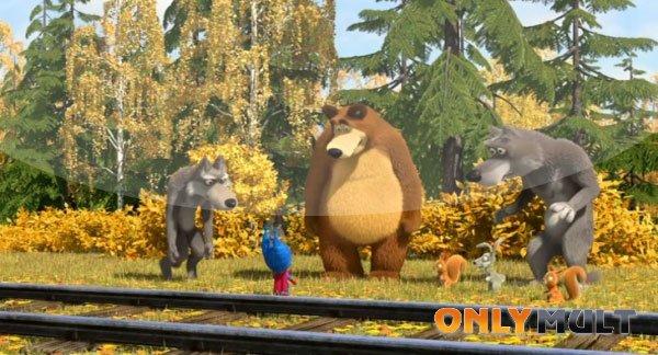 Третий скриншот Маша и Медведь 43 серия