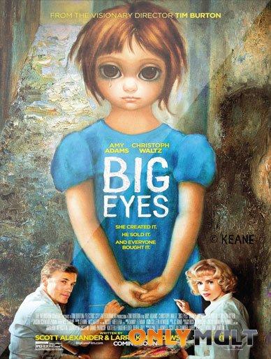 Poster Большие глаза