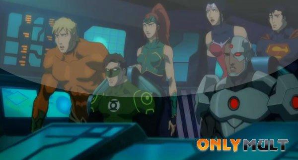 Первый скриншот Лига Справедливости: Трон Атлантиды