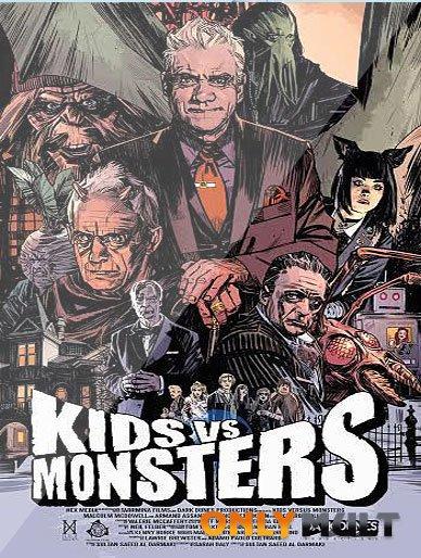 Poster Дети против монстров
