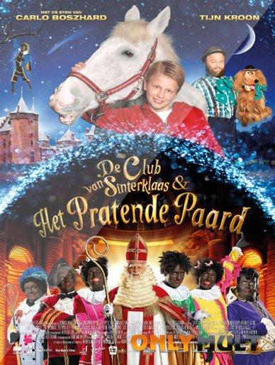 Poster Клуб Синтерклаас и говорящая лошадь