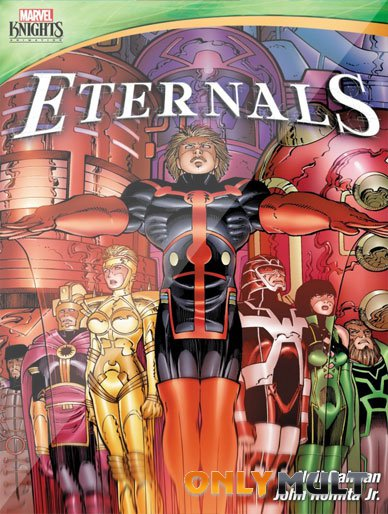 Poster Рыцари Marvel Вечные