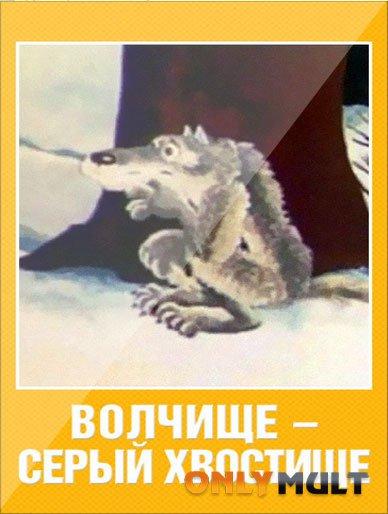 Poster Волчище серый хвостище