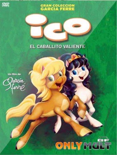 Poster Ико отважный жеребенок