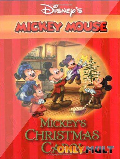 Poster Рождественская история Микки