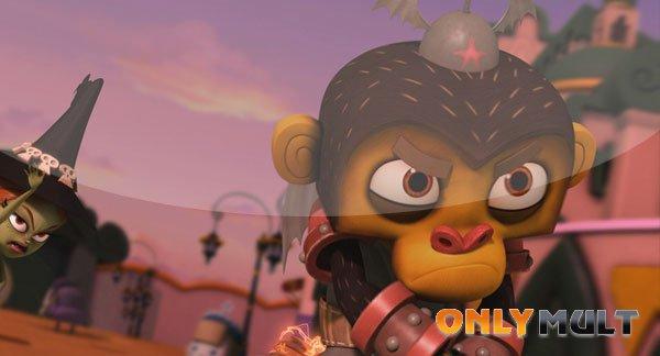 Третий скриншот Оз: Нашествие летучих обезьян