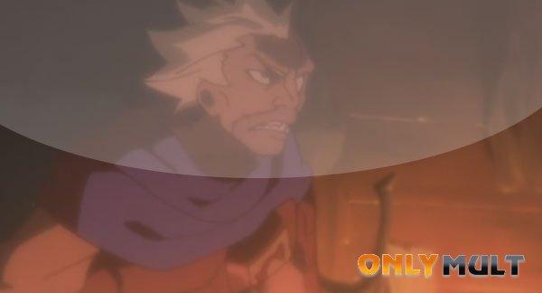 Второй скриншот Гаро: печать пламени