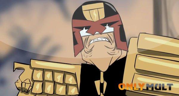 Первый скриншот Судья Дредд: суперзлодей