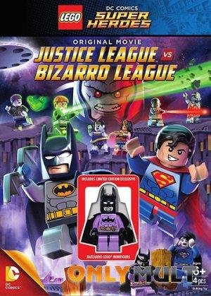 Poster LEGO супергерои DC: Лига справедливости против Лиги Бизарро