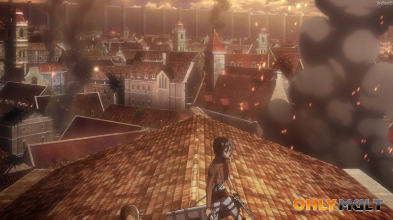 Третий скриншот Вторжение титанов: Крылья свободы