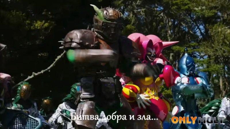 Второй скриншот Могучие рейнджеры: Дино Заряд