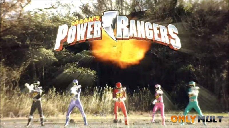 Первый скриншот Могучие рейнджеры: Дино Заряд