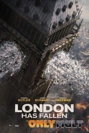Poster Падение Лондона (2016)