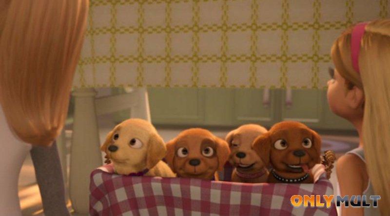 Третий скриншот Барби и щенки в поисках сокровищ