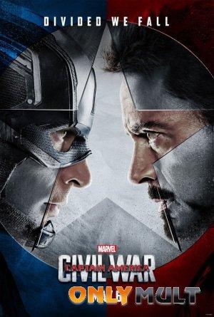 Постер торрента Первый мститель: Противостояние