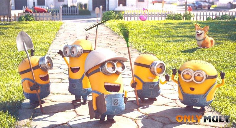 Первый скриншот Миньоны против газона