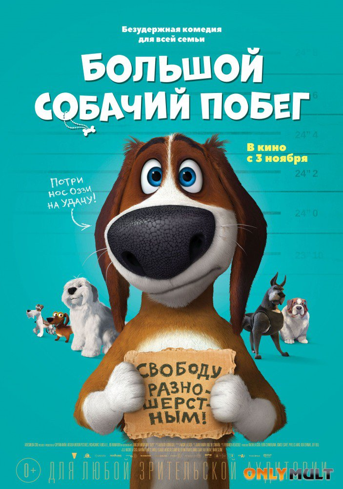 Постер торрента Большой собачий побег