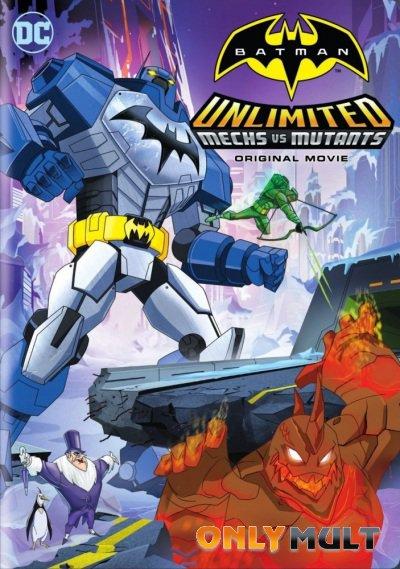 Постер торрента Безграничный Бэтмен: Роботы против мутантов
