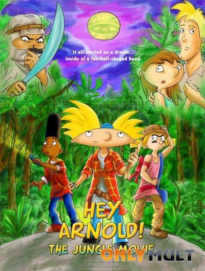 Постер торрента Эй Арнольд: Фильм о джунглях (2017)