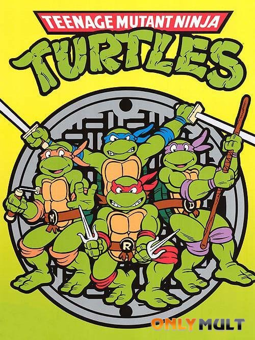 Постер торрента Черепашки мутанты ниндзя (1987 - 1996)